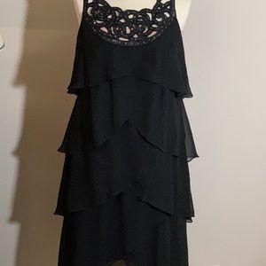 SL Fashion Black Dress